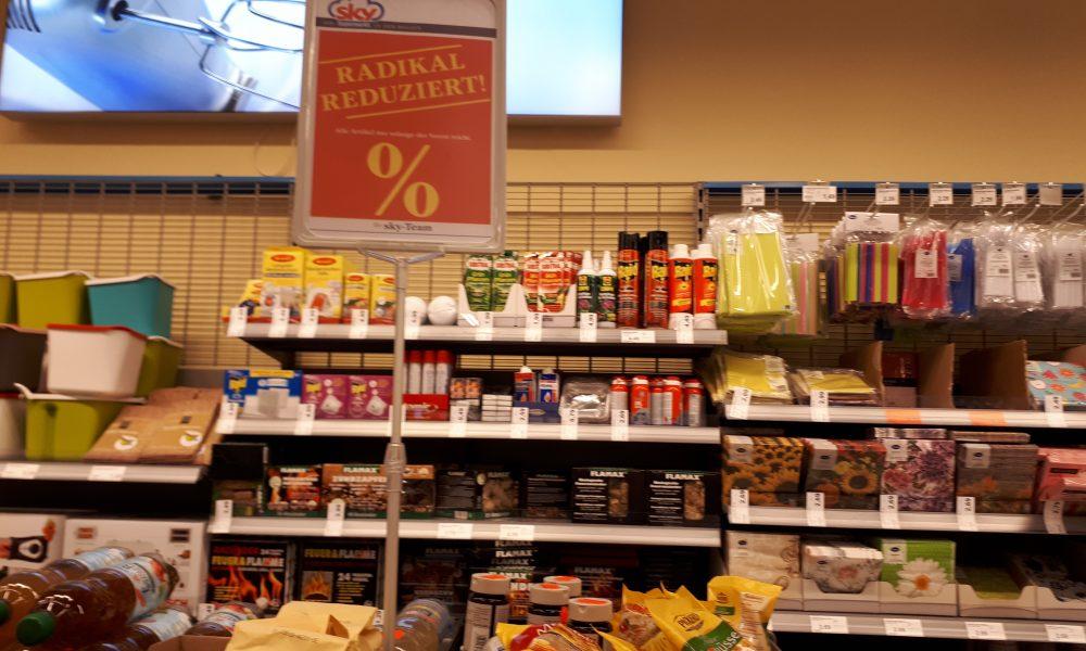 Sky Supermarkt Rewe