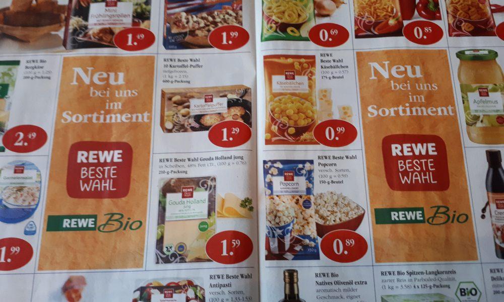 Sky Supermarkt Werbung