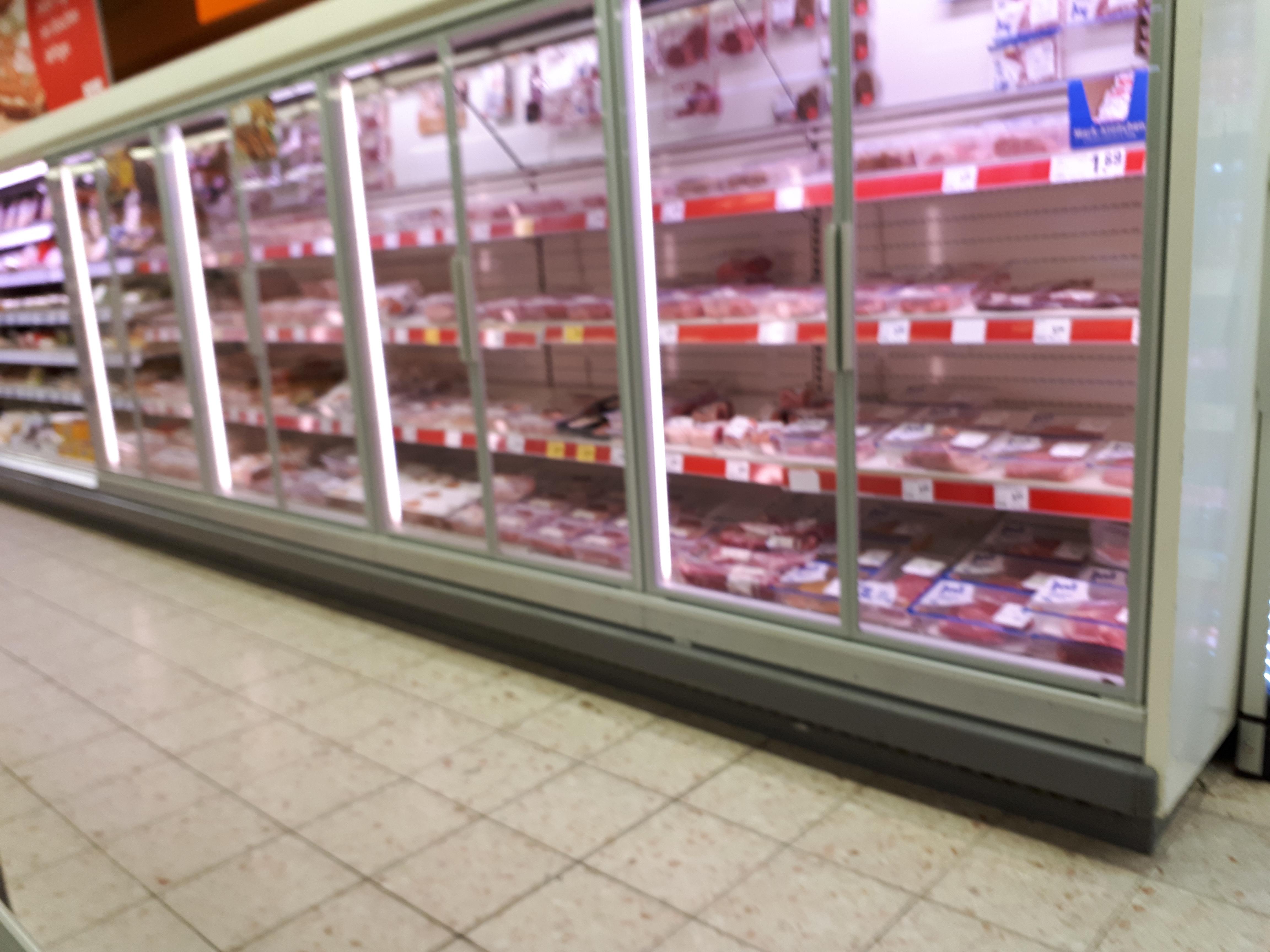 Rewe Beisken Sb Fleisch Supermarkt Inside