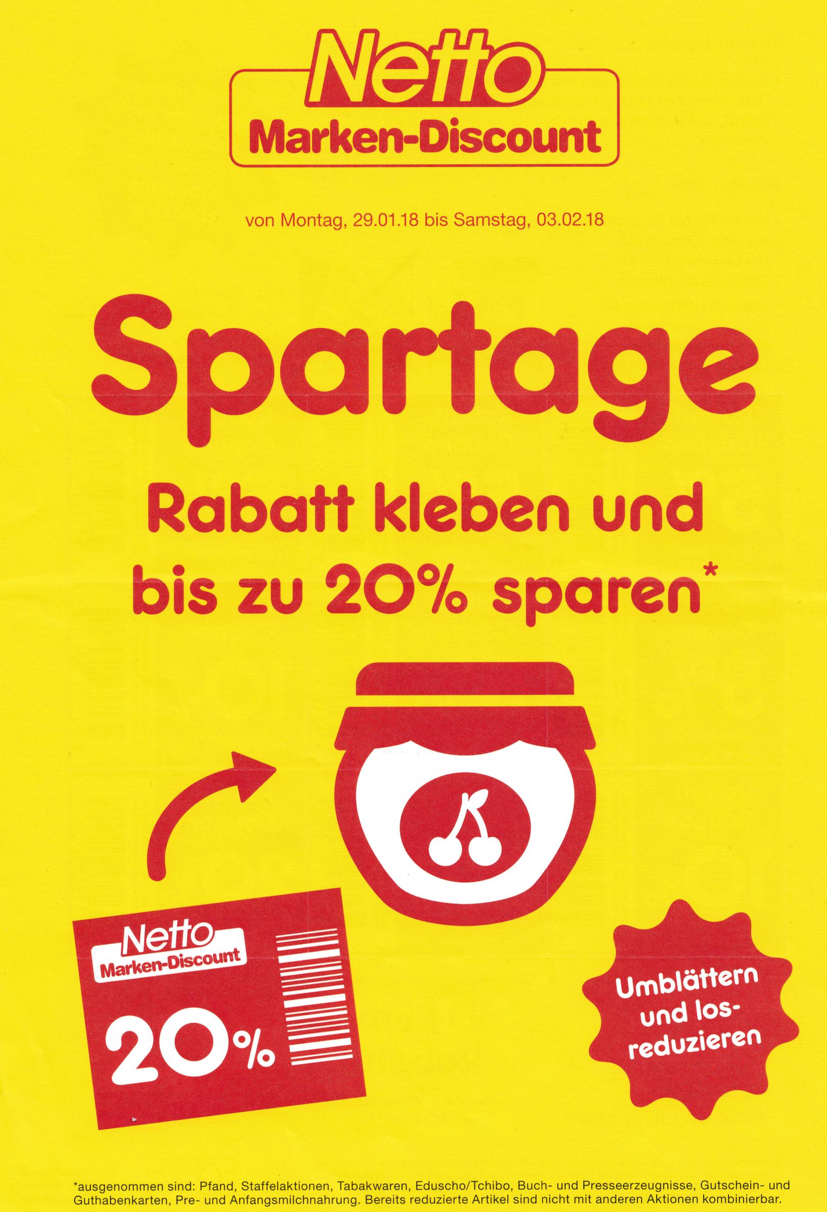 Spartage bei Netto wieder ein riesen Erfolg! - Supermarkt Inside