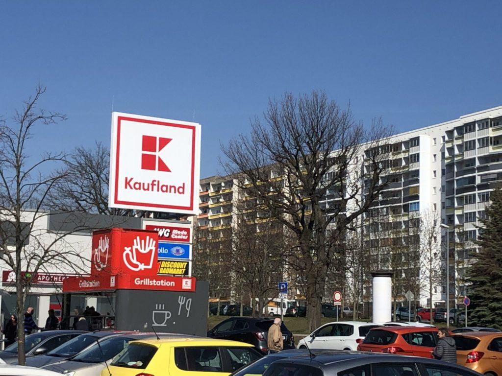 Kaufland in Chemnitz im Angriffmodus - Supermarkt Inside