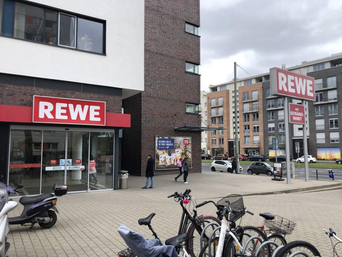 Rewe In Frankfurt