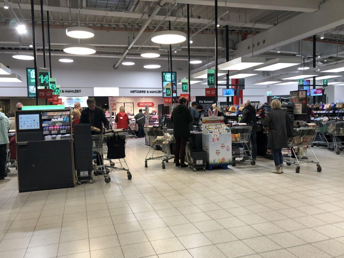Kaufland Chemnitz - Supermarkt Inside