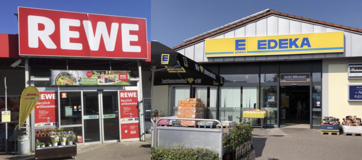 Edeka und Rewe suchen Nähe - Supermarkt Inside