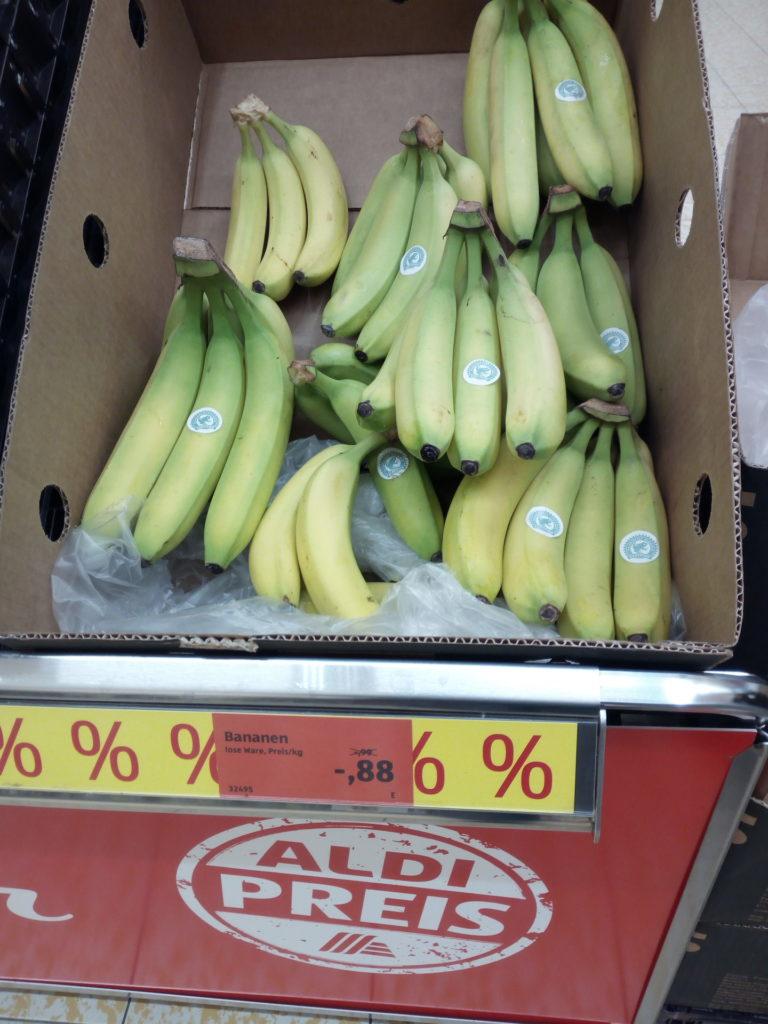 Aldi Aktion Bananen