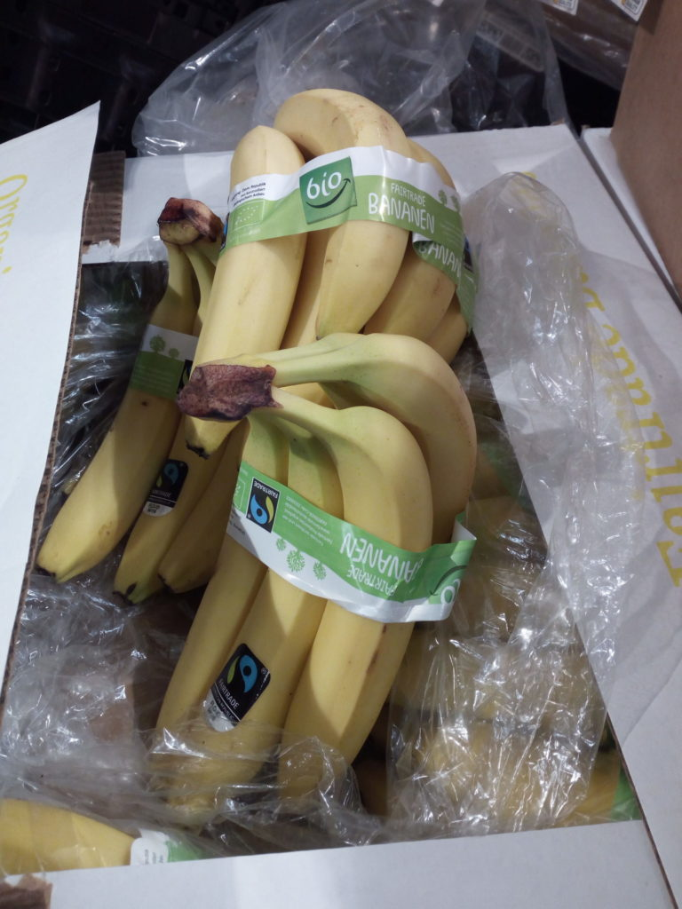 Aldi Fairtrade Bananen
