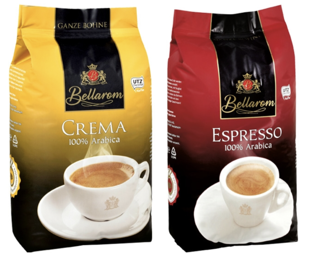 Kaffee Werbung 2021