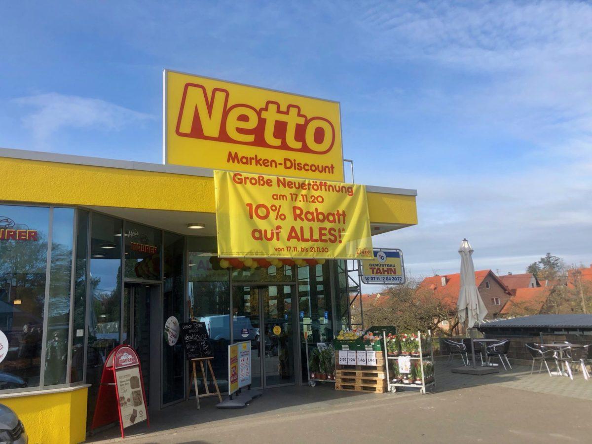 Netto macht sich hübsch für Weihnachten   Supermarkt Inside